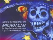Michoacan Dia de los Muertos poster.