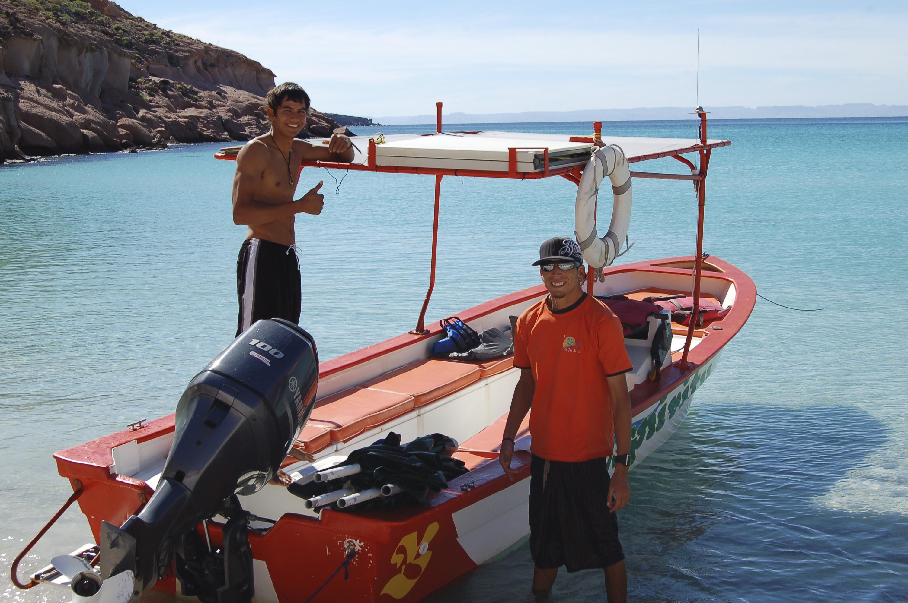 Eduardo & Carlos, Espiritu & Baja Tours, La Paz