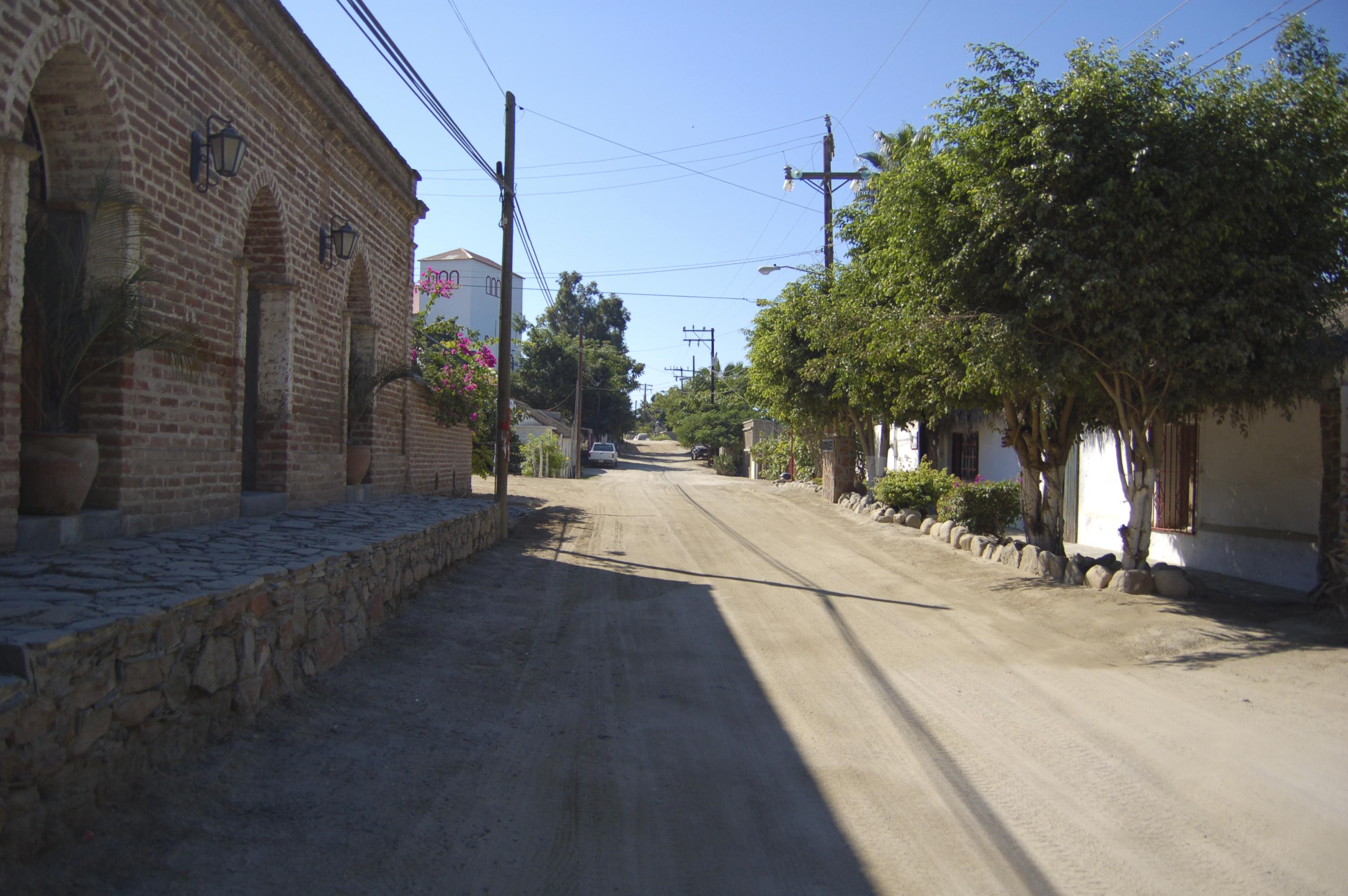 Todos Santos Dirt Road