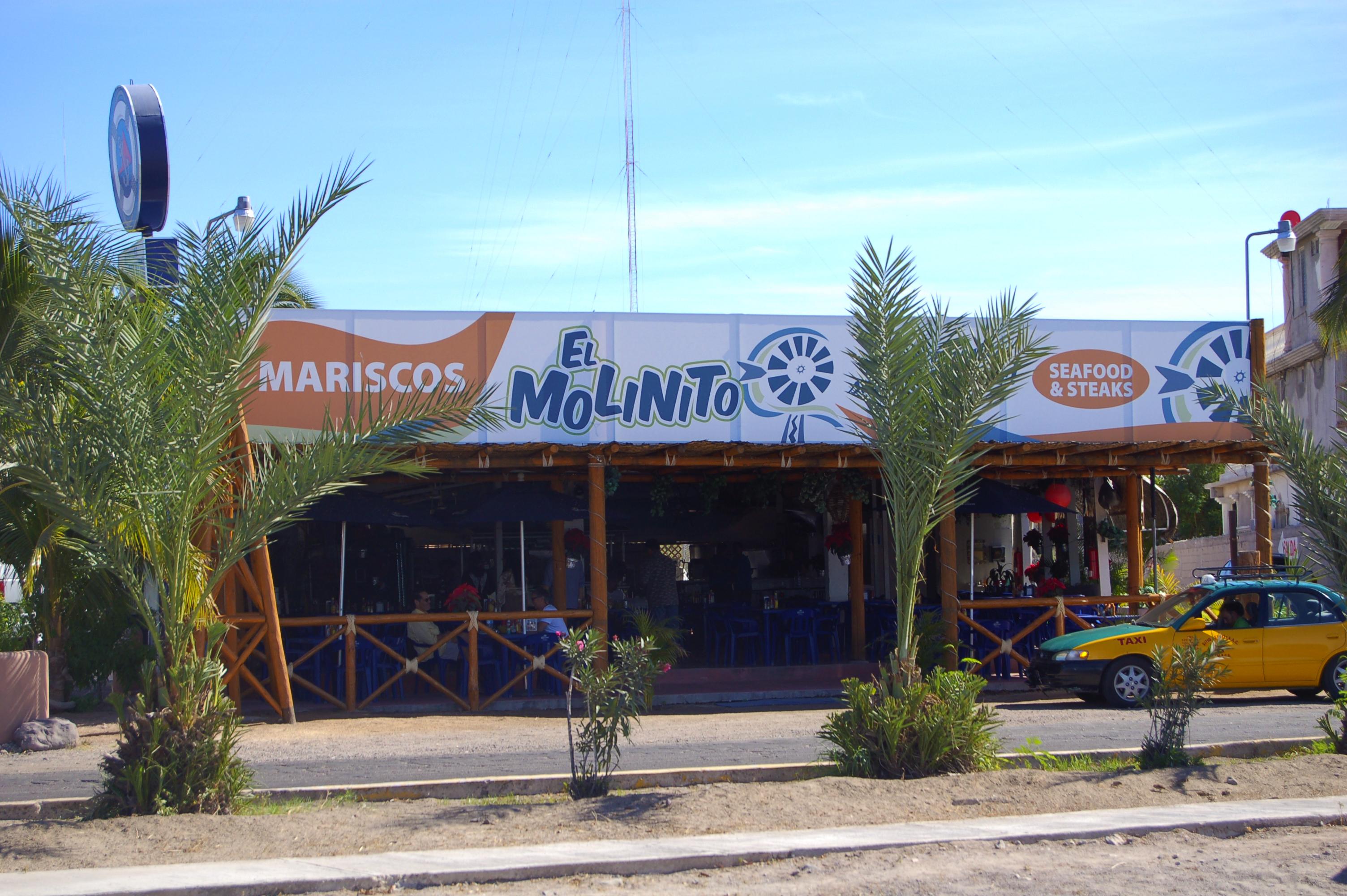 Mariscos El Molinito, La Paz, Baja Sur