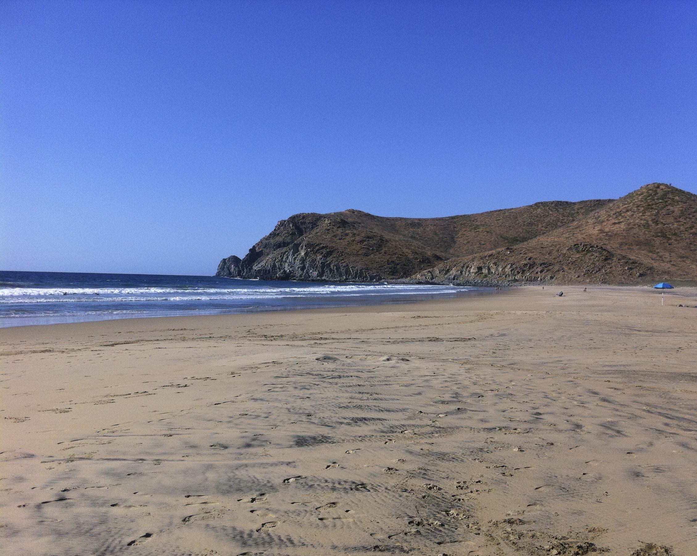 Playa Las Palmas, Todos Santos