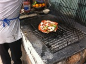 Rock Cod Zerandeado on the grill, Popotla, Baja Norte