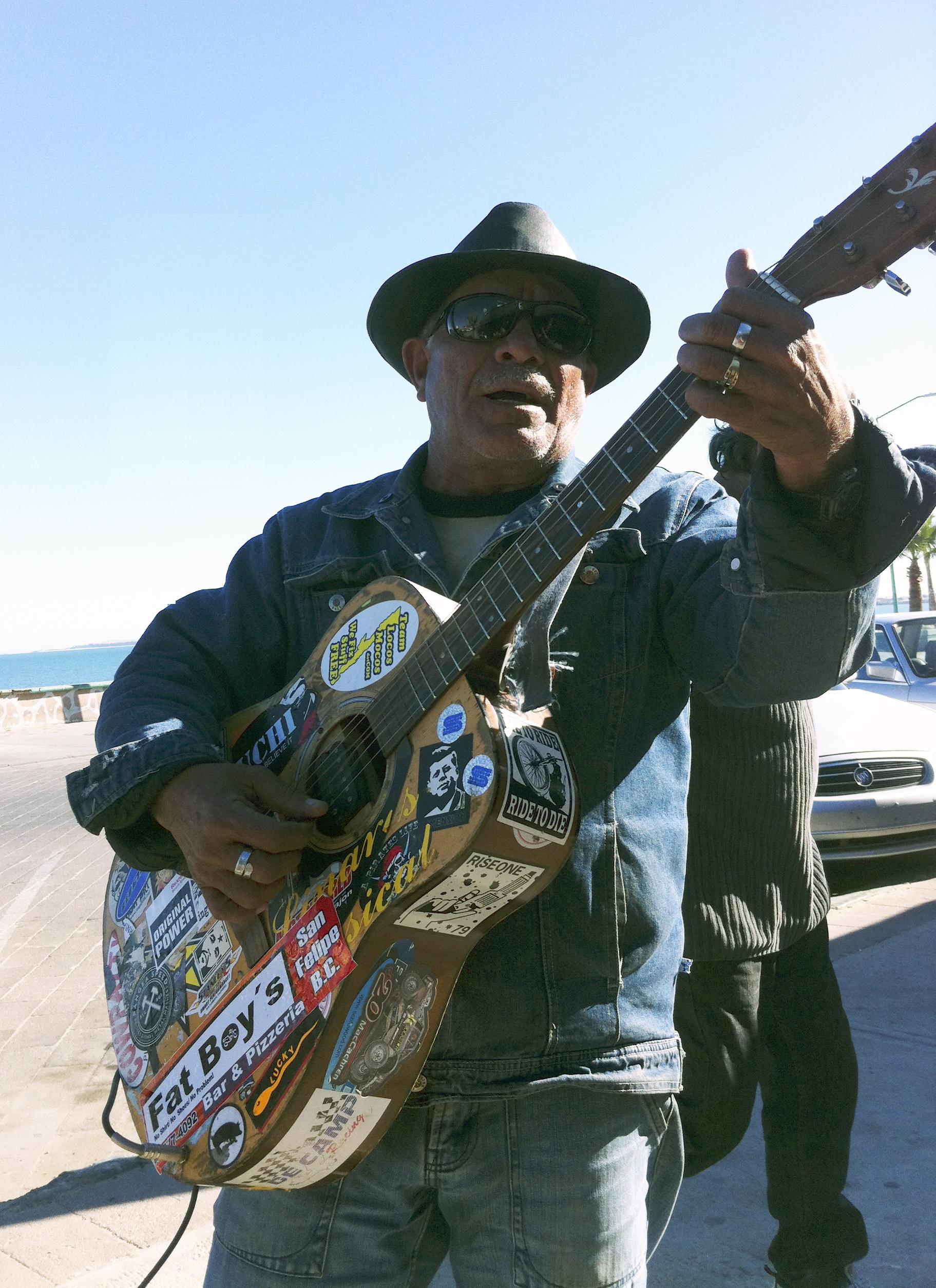 Street Musician, San Felipe, Baja Norte, Mexico