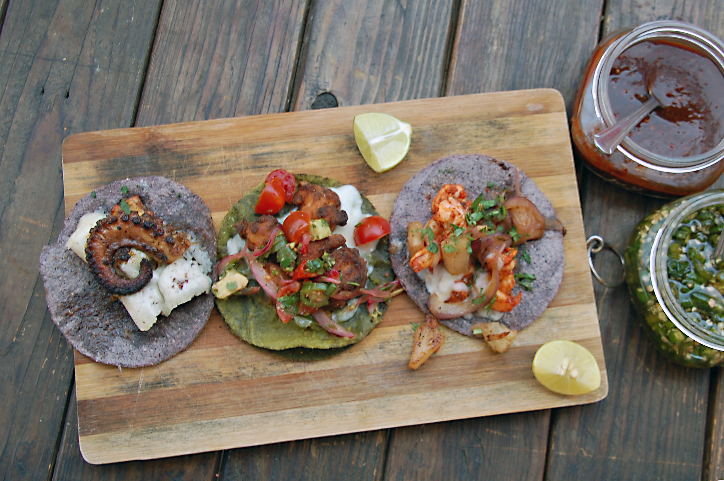 Tacos from La Carreta, Estacion 55, Tijuana, Baja California, Mexico