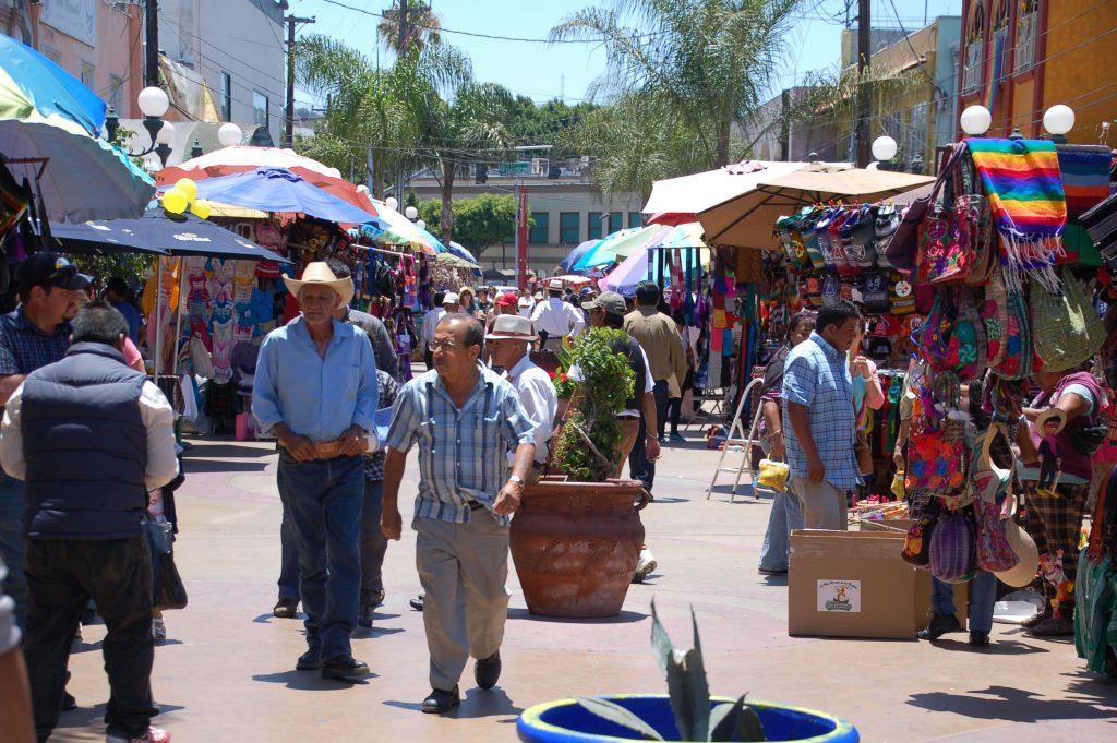 Plaza Santa Cecilia, Tijuana, Baja California, Mexico