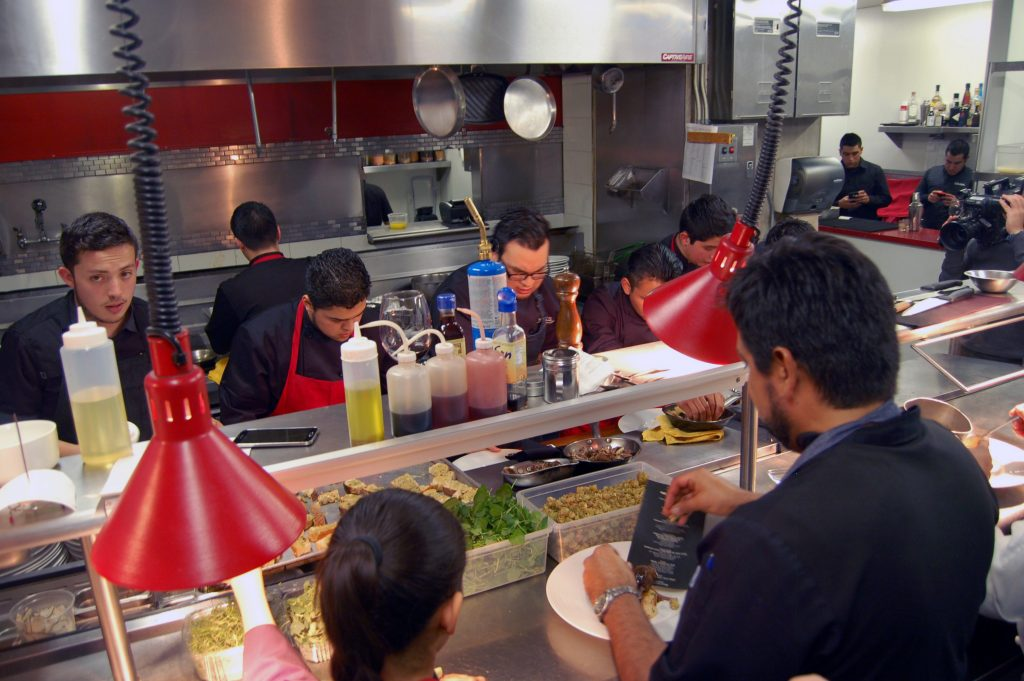 Chef Javier Plascencia, Omar Reyes and staff, Mision 19, Tijuana, Baja California, Mexico
