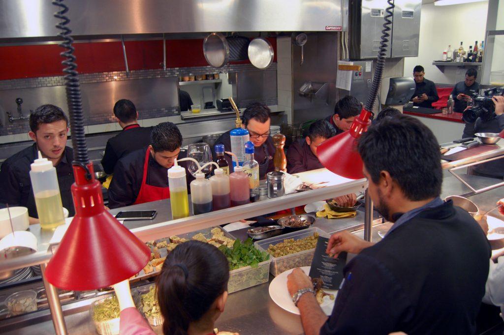 Chef Javier Plascencia, Omar Reyes and staff, Mision 19, Tijuana, Baja California, Mexico