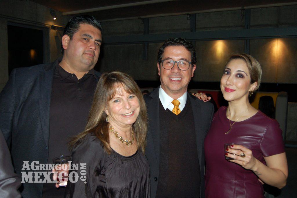 Julio Marruffo, Wendy Lemlin, Javier Gonzalez and Karla Navarro, Mision 19, Tijuana, Baja California, Mexico