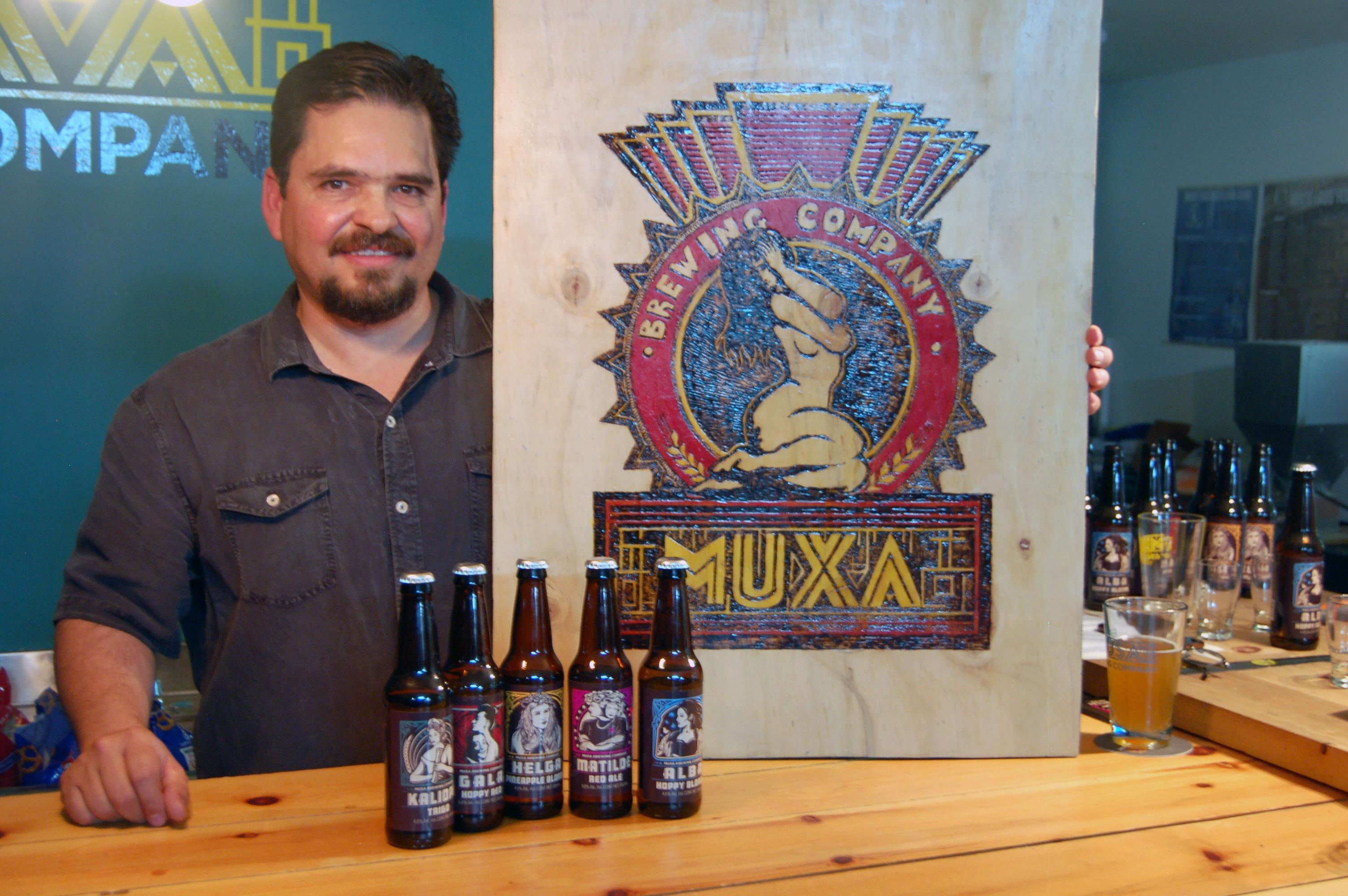 Owner Aleandro Rojas of Muxa, Mexicali, Baja California, Mexico