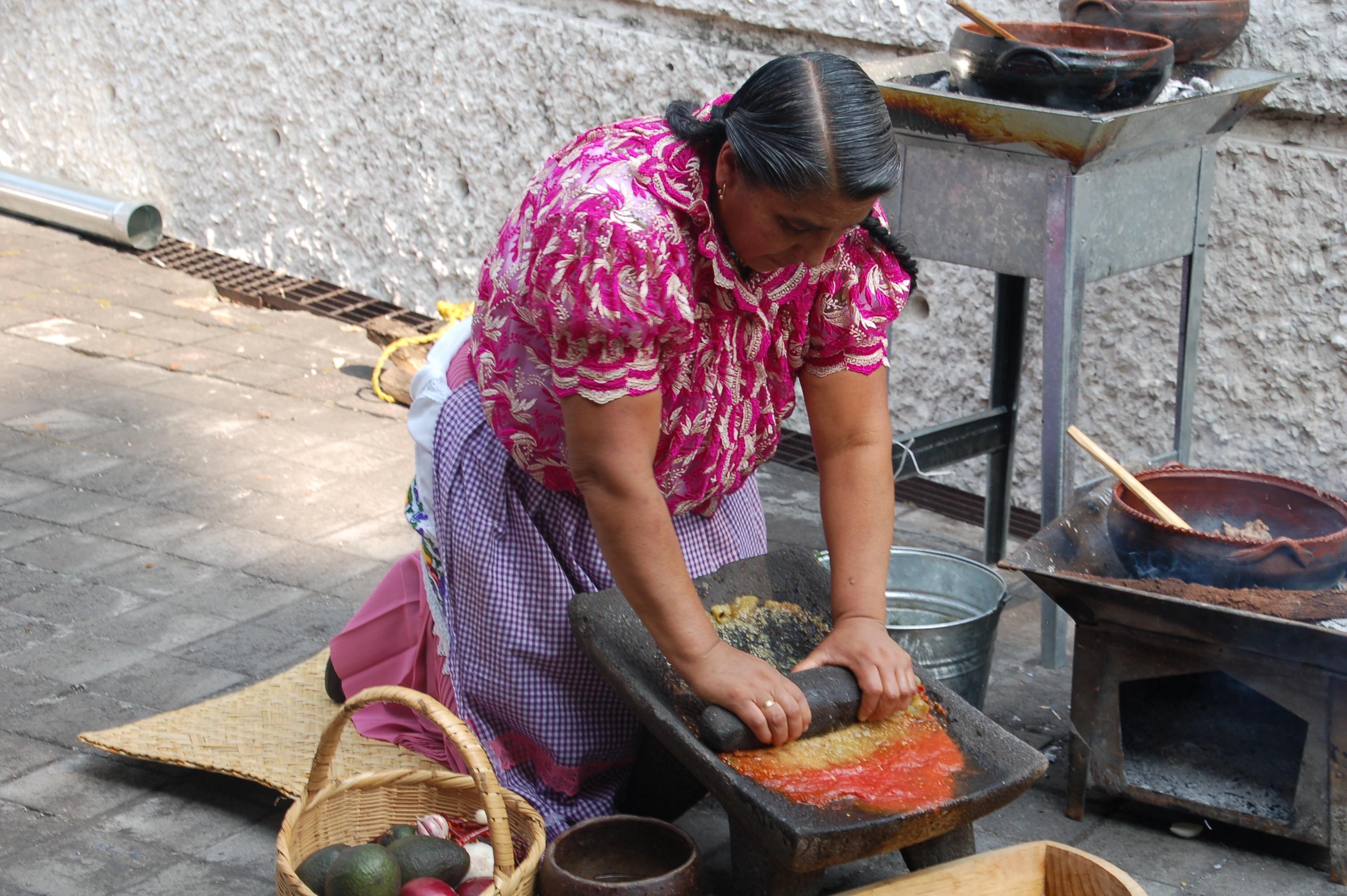Cocinera Benedicta Alejo Vargas, FMGM, Mexico City, Mexico