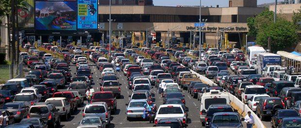 San Ysidro Border Crossing, San Ysidro, Tijuana, Baja California, Mexico