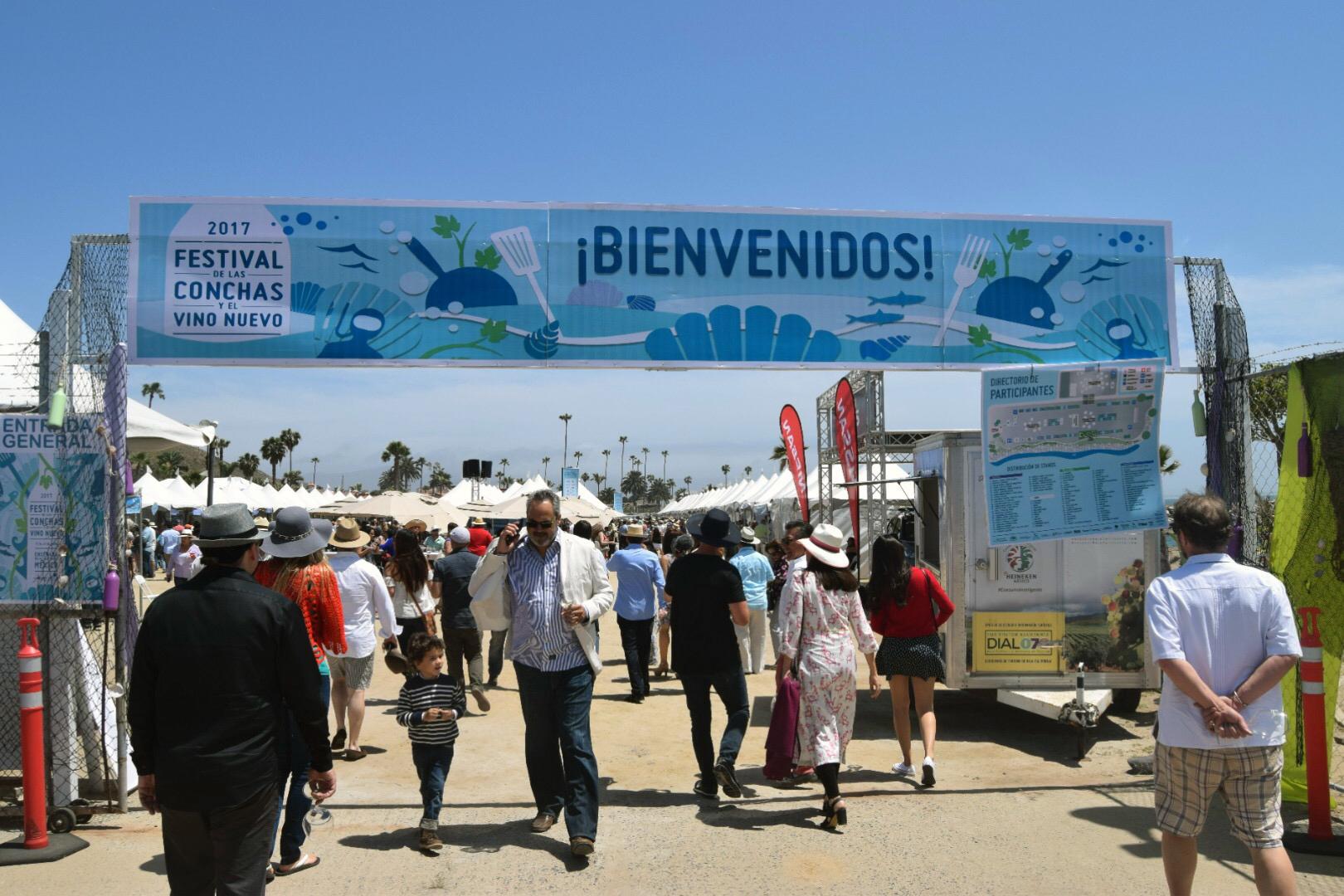 The Festival de las Conchas y el Vino Nuevo, Ensenada.