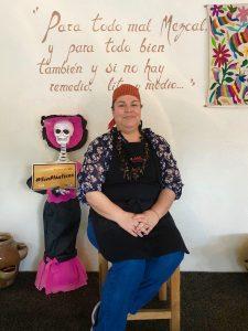 Alicia León, Restaurante Autóctanos Malinalli, Tecate, Baja California, Mexico