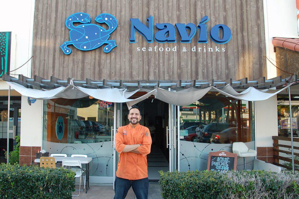 Chef Julio Rodriguez, Navio Seafood, Tijuana, Baja California, Mexico