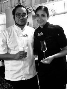 Restaurant Amores, chef Marcelo Hisaki, Tecate, Baja California, Mexico
