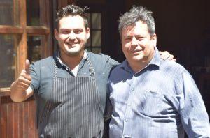 Luciano Gonzalez, Federico Cota, Restaurante Quercus, Valle de Guadalupe, Baja California, Mexico