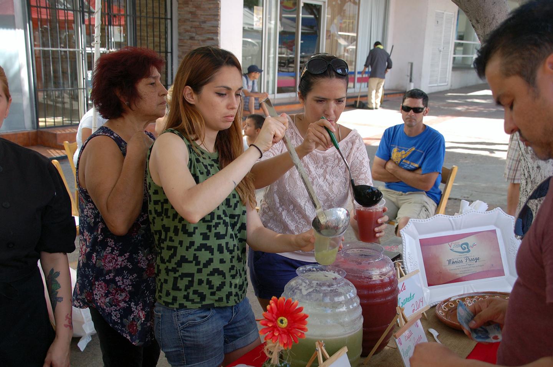 Festival del Chiles en Nogada, Tijuana, Baja California, Mexico