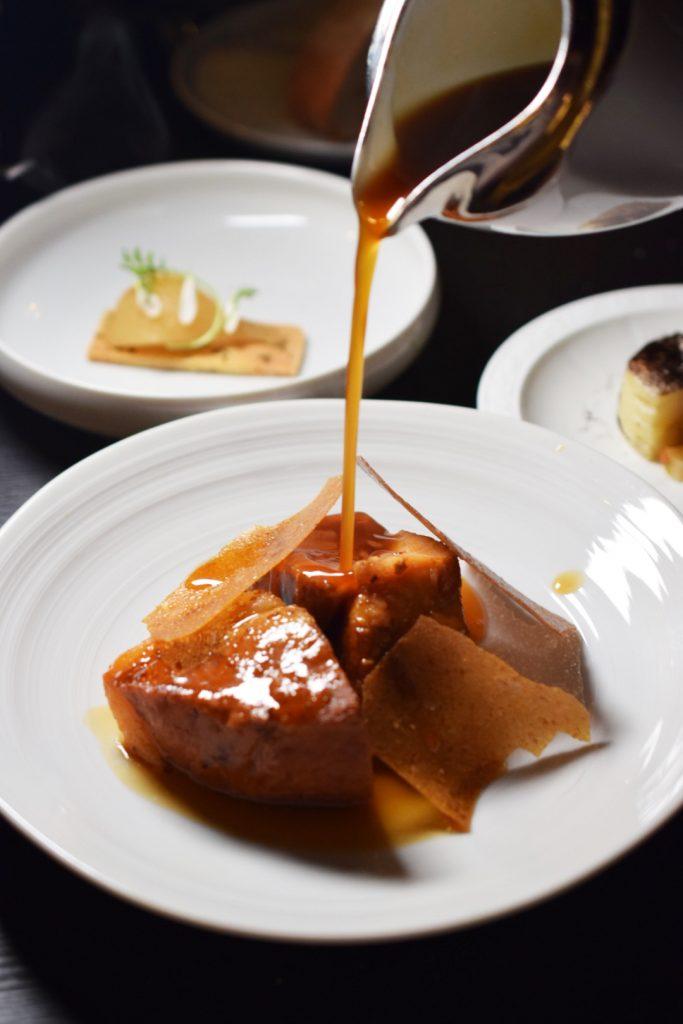 Pork loin at Restaurante Amores, Tecate, Baja California, Mexico
