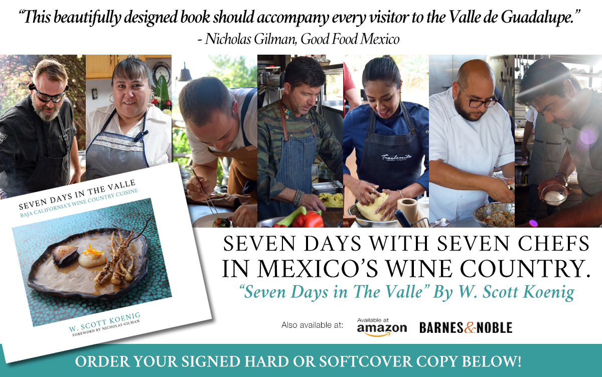 Seven Days in The Valle, W. Scott Koenig, Valle de Guadalupe, Baja California, Mexico