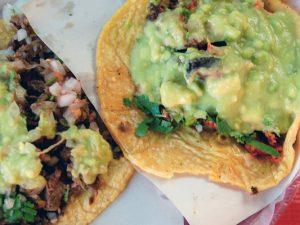 Tijuana tacos at Taqueria el Taconazo, Tijuana, Baja California, Mexico
