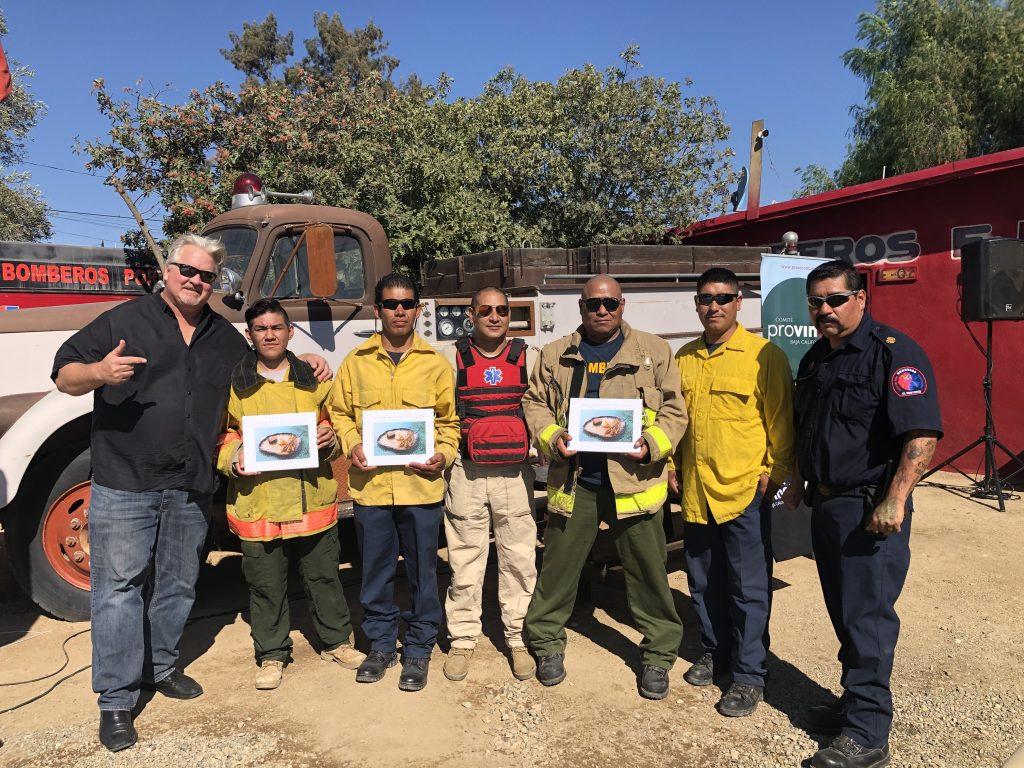 El Porvenir Fire Department, Valle de Guadalupe, Baja California, Mexico