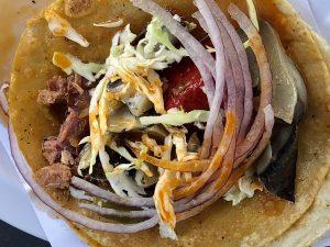DeKlein Taco at Mariscos Walter's, Tijuana, Baja California, Mexico