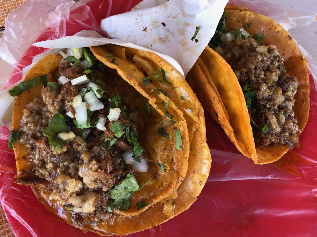 Birria and Bone Marrow Taco, Xolotacos, Tijuana, Baja California, Mexico