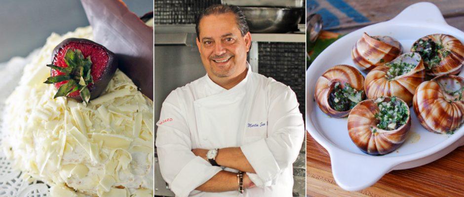 chef martín san román, el original pastel de crepas tijuana bistro, Tijuana, Baja California, Mexico