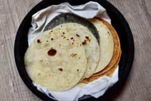 flour tortillas, corn tortillas, lorneza restaurant, Tijuana, Baja California, Mexico