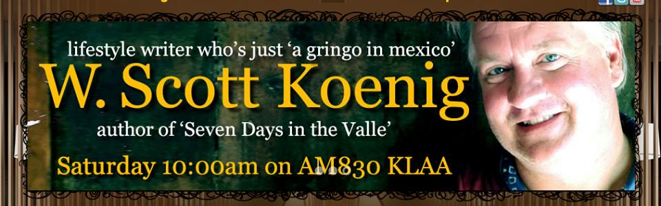 a gringo in mexico, agringoinmexico.com, W. Scott Koenig, Andy Harris, SoCal Restaurant Show Podcast, 2018